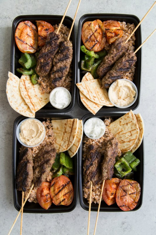Kofta Kebab Meal Prep