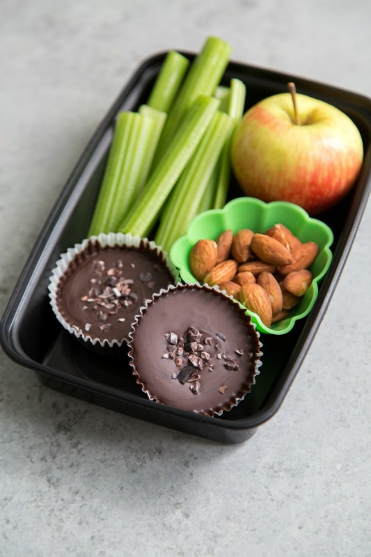 Low Sugar Chocolate Peanut Butter Cups