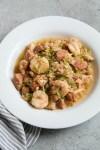 One Pot Whole30 Jambalaya Meal Prep