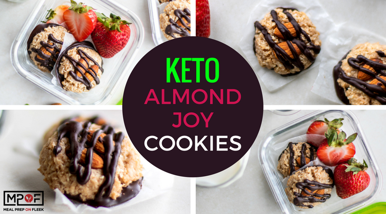 Keto Almond Joy Cookies blog