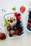 Greek Yogurt Cookie Dough Fruit Dip
