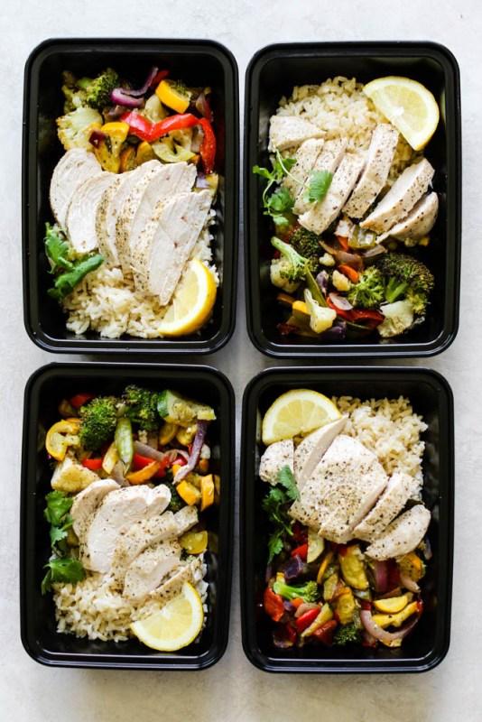 Chicken Buddha Bowl Meal Prep