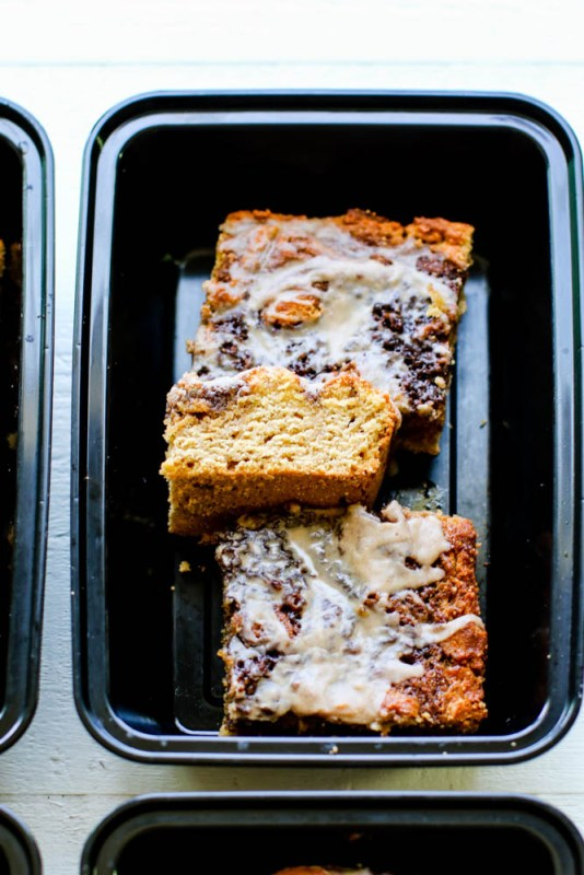 Cinnamon Roll Coffee Cake Meal Prep