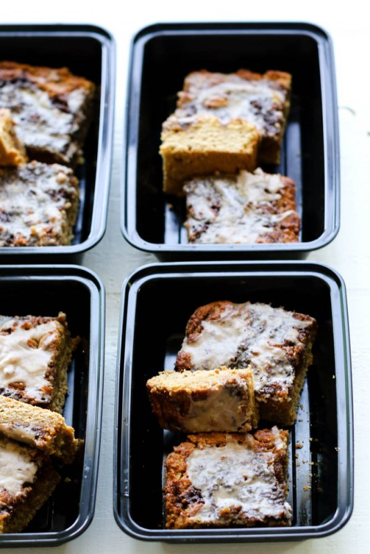 Cinnamon Roll Coffee Cake Meal Prep