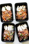 Cold Chicken Soba Noodle Meal Prep