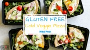 Gluten Free Cold Veggie Pizza Meal Prep blog