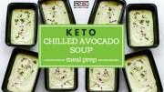Keto Chilled Avocado Soup Meal Prep blog