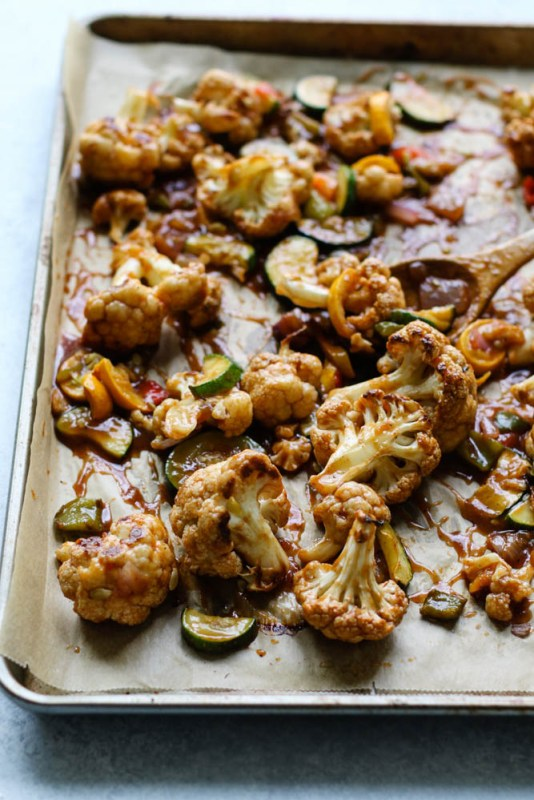 Sweet & Sour Cauliflower Bites Meal Prep