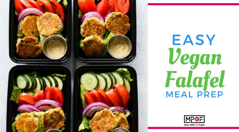 Easy Vegan Falafel Meal Prepblog