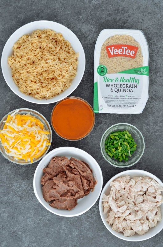 Mexican Whole Grain Rice & Quinoa Casserole Meal Pep