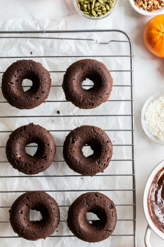 Vegan Double Chocolate Donut Meal Prep