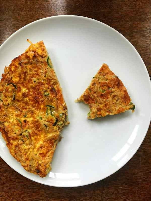 Spiralizer Vegetable Frittata