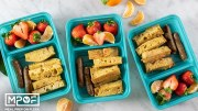 French Toast Sticks & Sausage Sheet Pan Meal Prep
