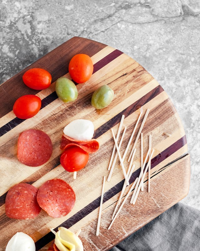 Antipasto Skewer Snack Boxes