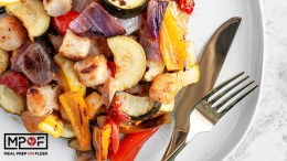 Roasted Mediterranean Cauliflower Gnocchi & Veggies