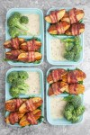 Bacon Wrapped Potato Wedges