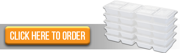 Order CTA Three Comp Meal Prep Containers