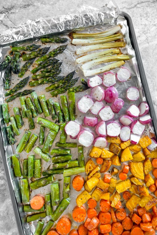 Vegetarian Cobb Salad Meal Prep