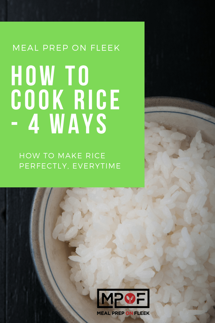 HOW TO MAKE RICE PERFECTLY, EVERYTIME