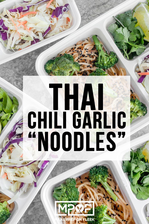 Whole30 Thai Chili Garlic Noodles