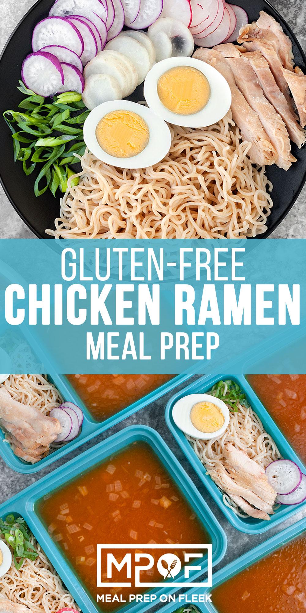 Chicken Ramen Meal Prep