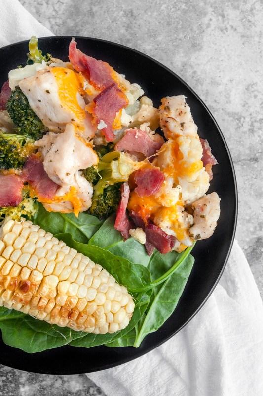 Chicken Bacon Ranch Meal Prep Idea