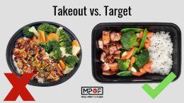 take out food vs make at home food