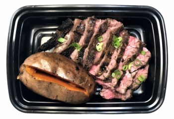 Pre-Workout Grilled Steak and Potato