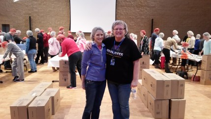 st francis of assisi church and school meals packaging event