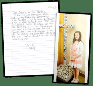 volunteer letters, charitable donations