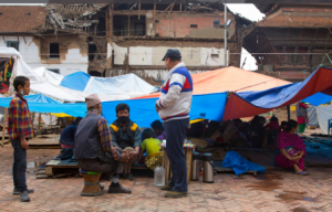 earthquake in Nepal, convoy of hope, meals from the heartland, earthquake relief, food for the starving