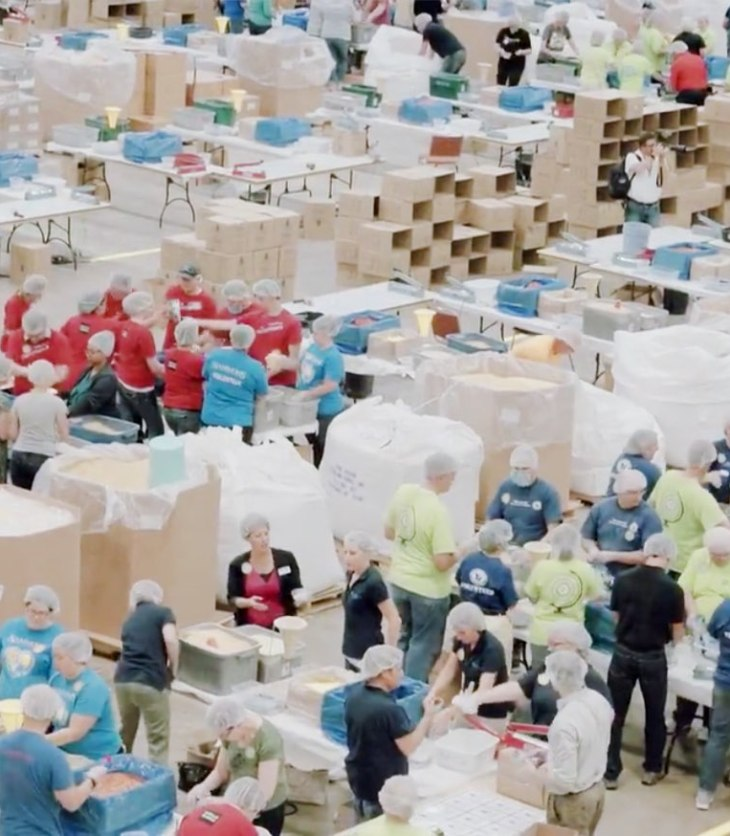 18 Million Meals in 2016