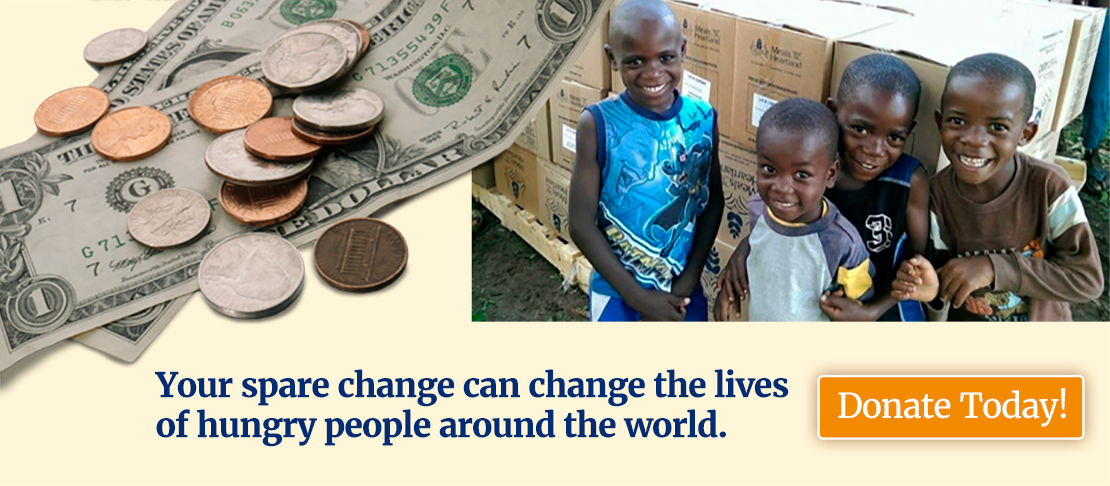 #GivingTuesday Donate Spare Change