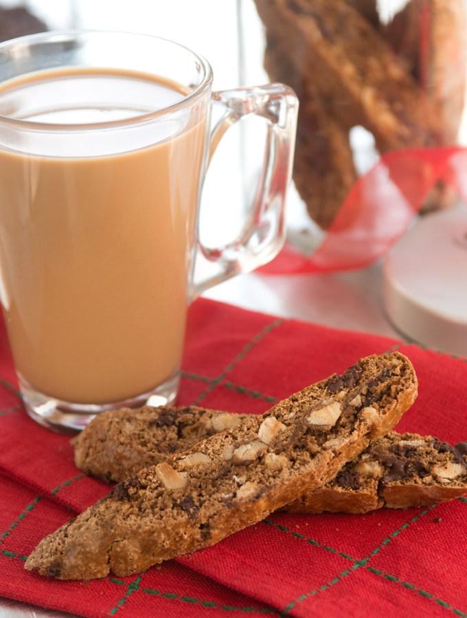 Cappuccino Hazelnut Biscotti