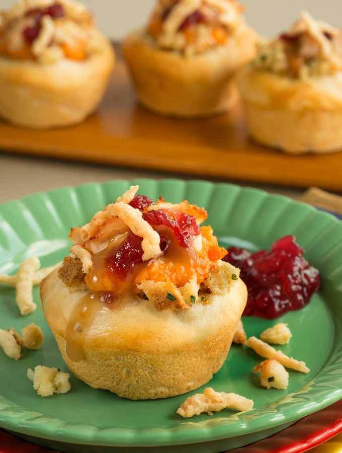 Thanksgiving Leftovers Cupcakes