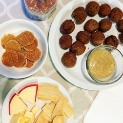 Our first course of Netherland's appetizers