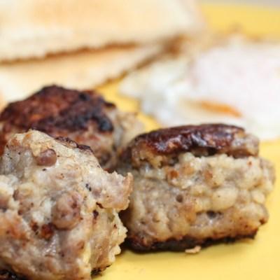 Italian Sausage Breakfast Meatballs