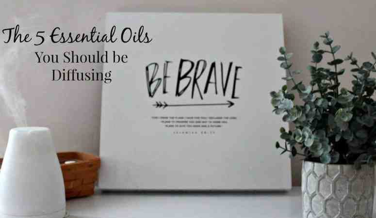 Essential Oil Diffusing for Beginners – 5 Essential Oils to Start With