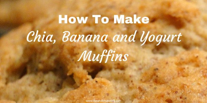 home made chia banana and yogurt muffin recipe review quick easy