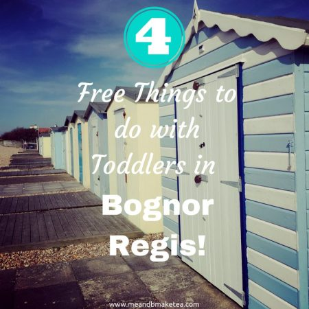 what to do with toddlers for free bognor regis
