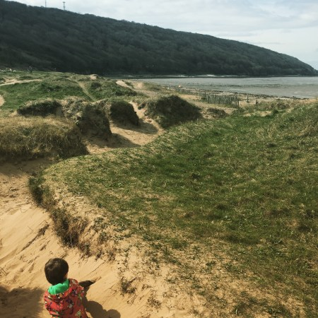 mummy blogger bristol weston super mare Sand bay beach parking things to do children family