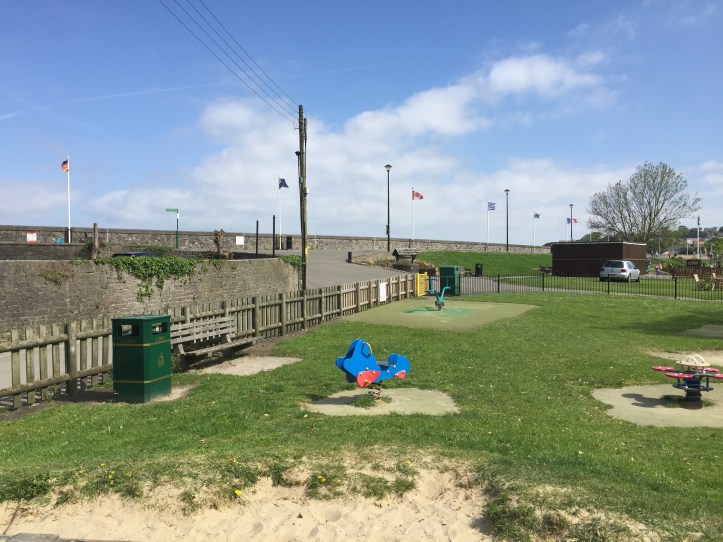Clevedon Salthouse fields day out family toddlers children summer ideas minature train playground