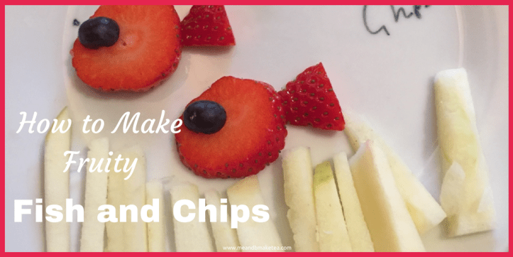 how to make fruity fish and chips