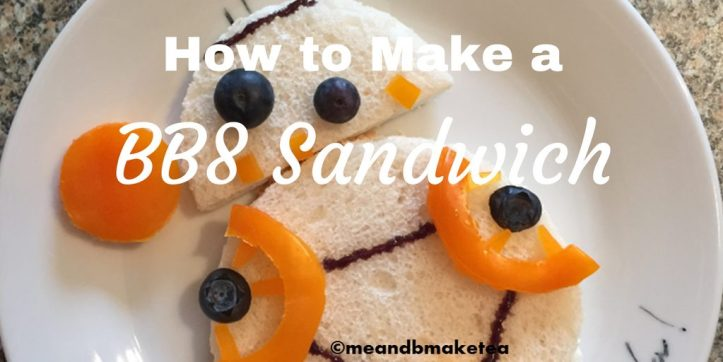 how to make a star wars themed party sandwich recipe template instructions simple and easy bb8