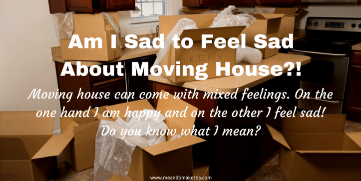 how to not be sad about moving house emotions depression grief