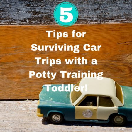 Five Tips for Surviving Car Trips with a Potty Training Toddler!