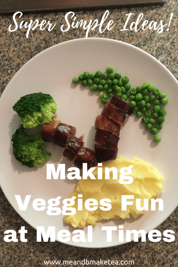 How to Make Veggies Fun at Meal Times perfect for fussy eaters