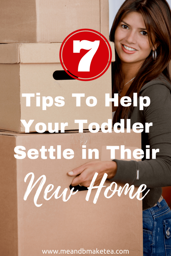 tips for moving house with kids toddlers children routine