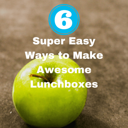 Six Super Easy Ways to Make Awesome Lunchboxes apple