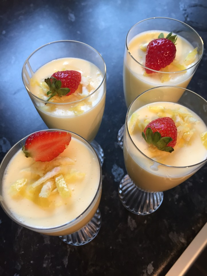 Lemon posset 4
